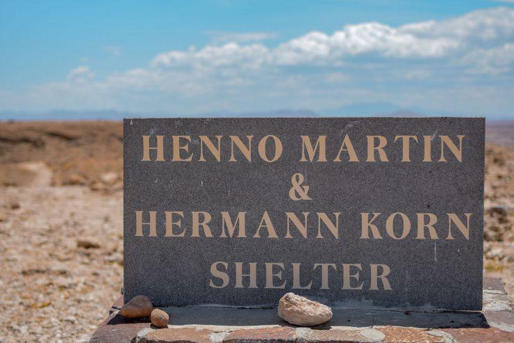 Henno Martin Shelter Namibia