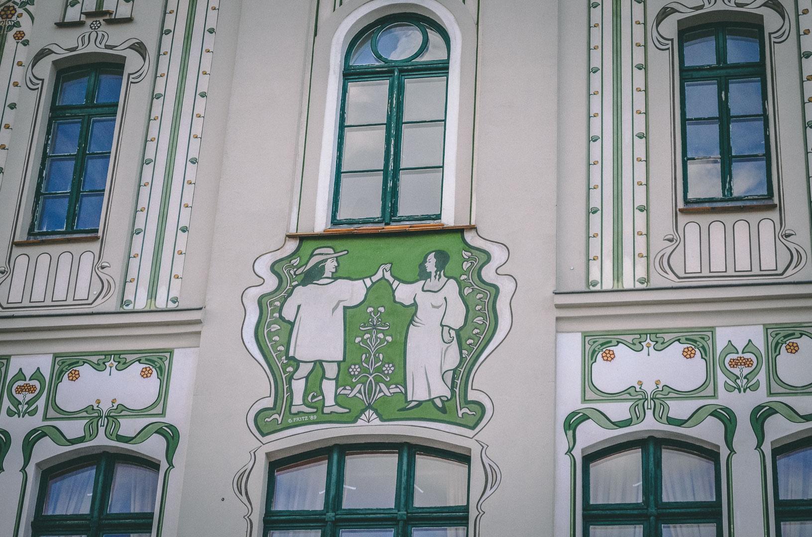 Wismar Fassadenmalerei