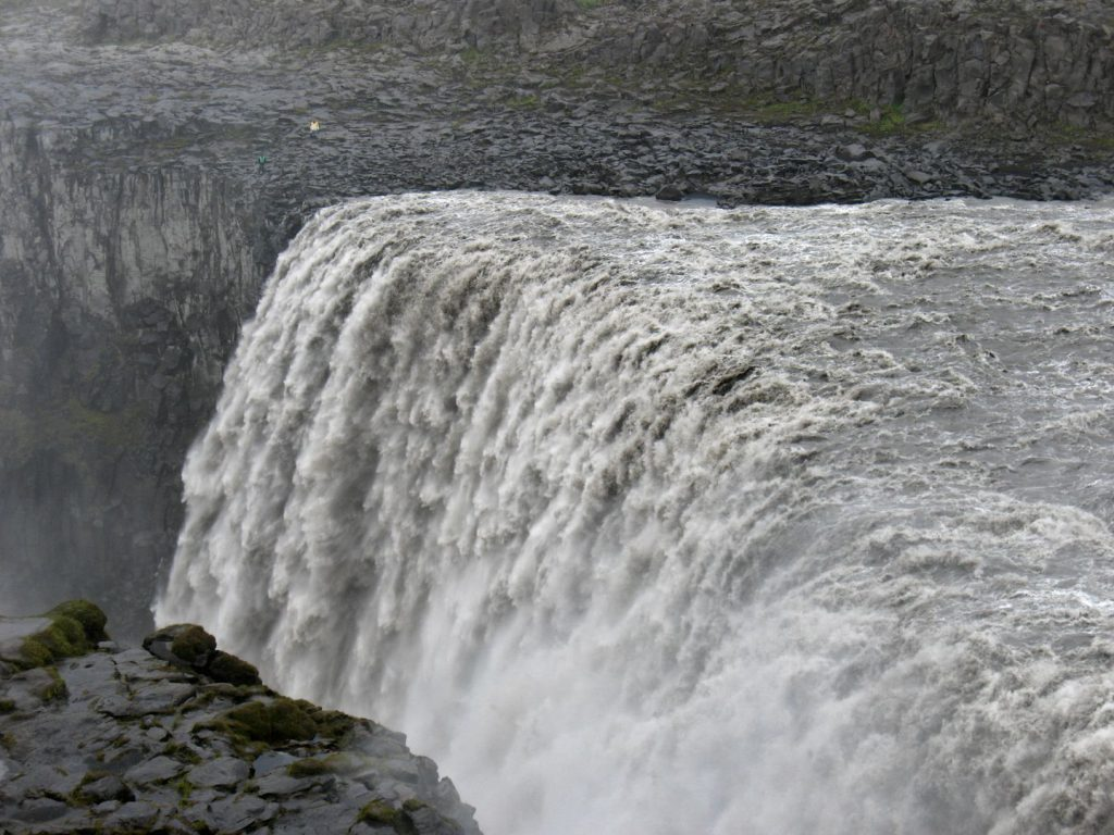 Island Dettifoss Wasserfall