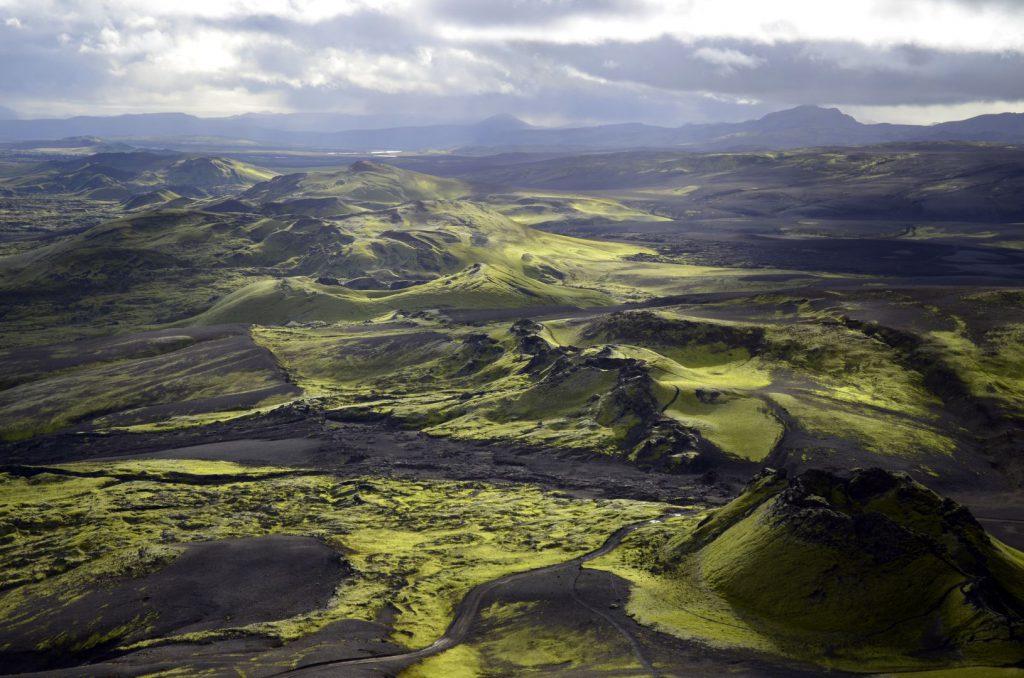 Island Laki-Krater