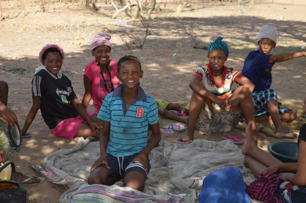 moderne San in Namibia
