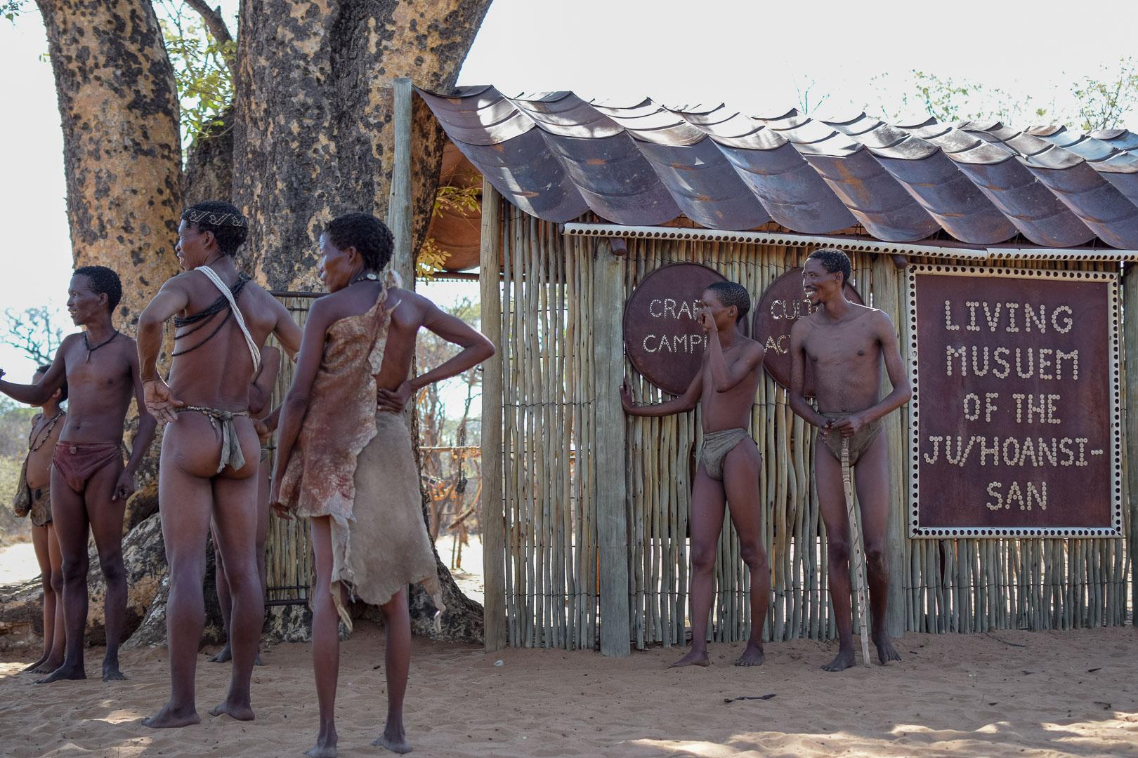 Living Museum San Namibia