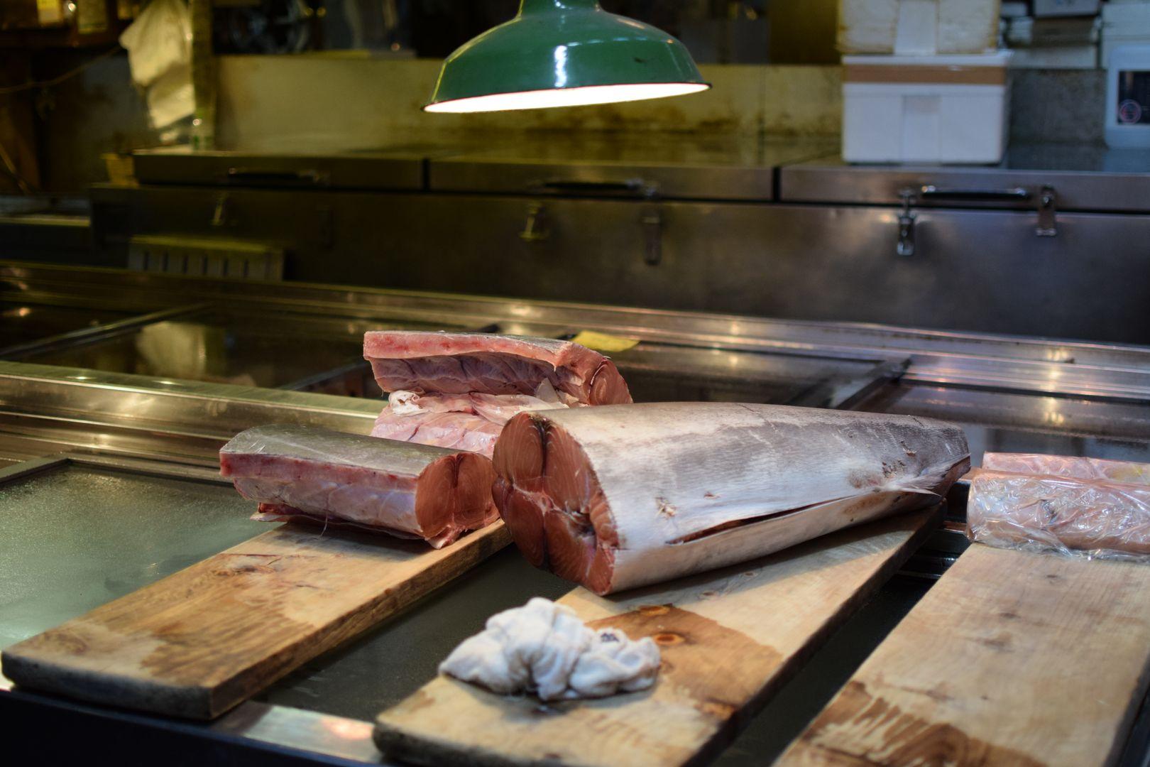 Tsukiji Thunfisch