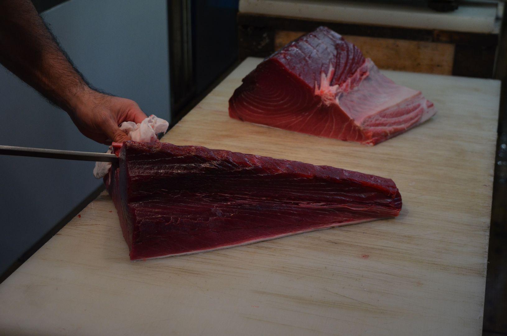 frischer Thunfisch