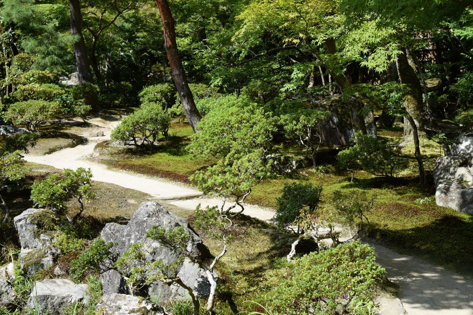 Ginkakuji Tempel Kyoto Silberner Tempel