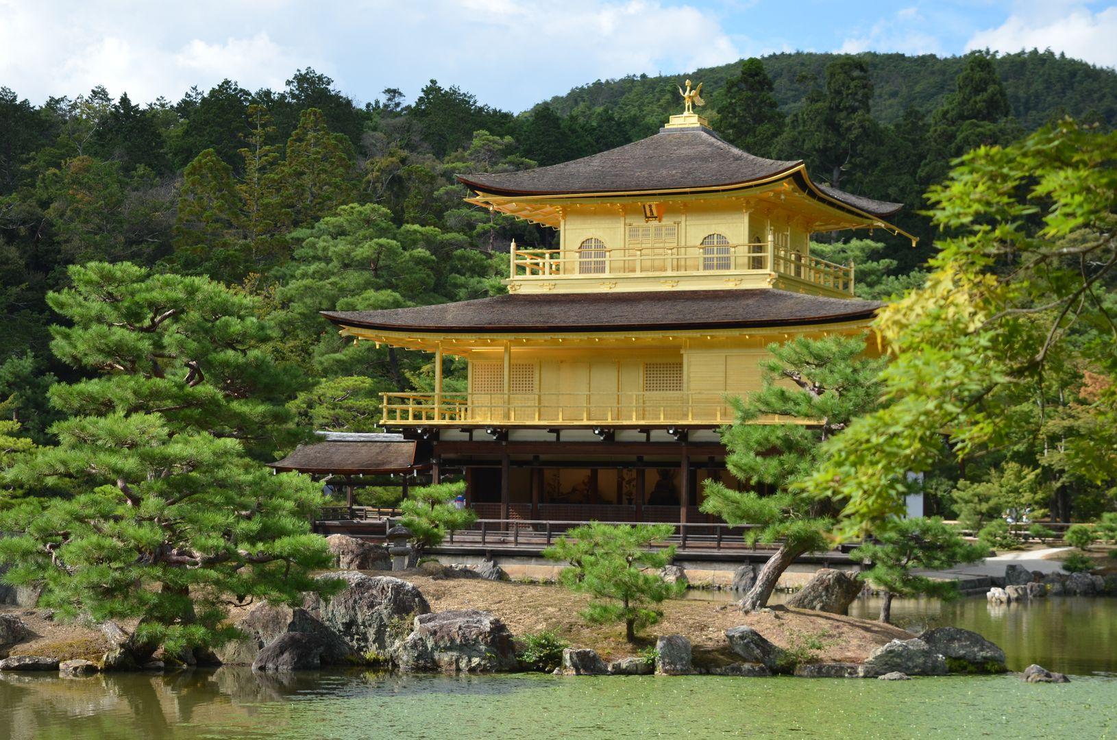 Kinkakuji Goldener Tempel Kyoto