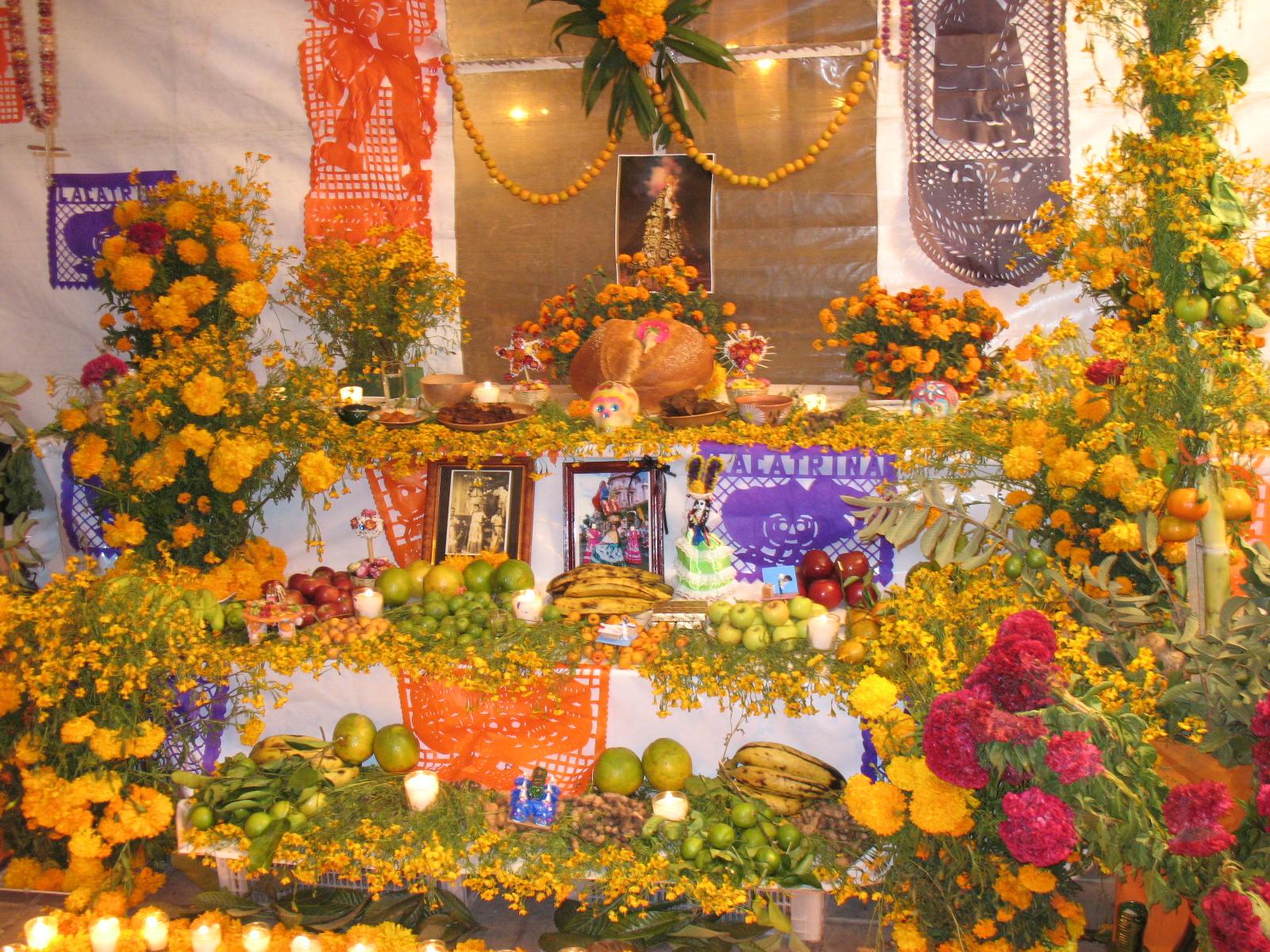 Altar Tag der Toten, Mexiko