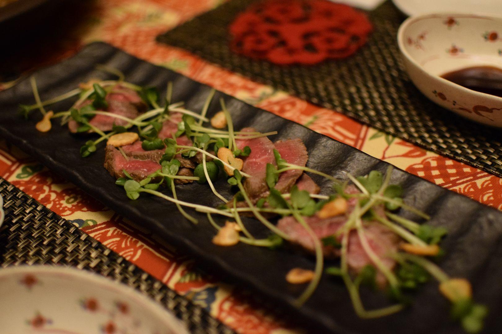Wagyu Rind, Home Cooking Dinner Hiroshima