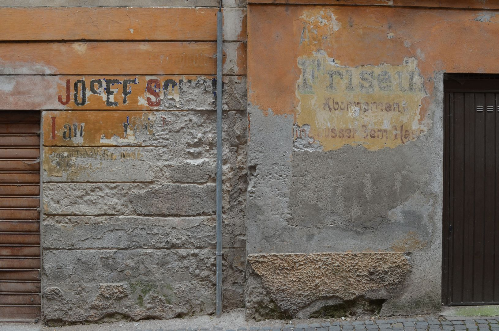 Meran Südtirol Alte Fassade
