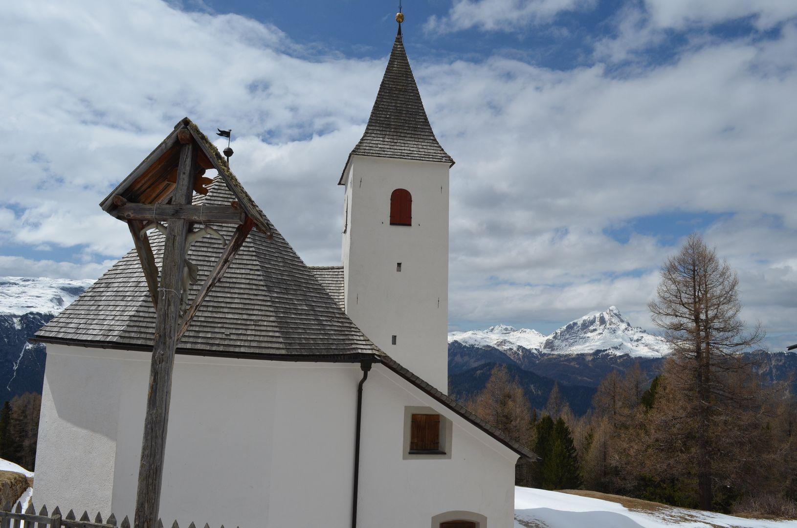 Heilig Kreuz Kapelle La Crusc