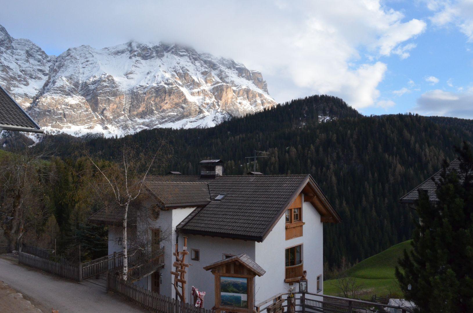 Maierhof Südtirol mit Kreuzkofel