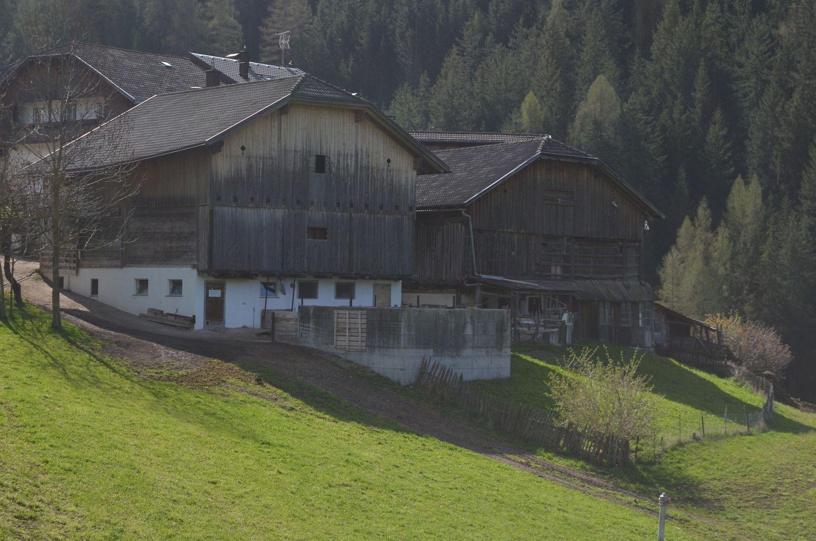 ladinisches Haus in Wengen