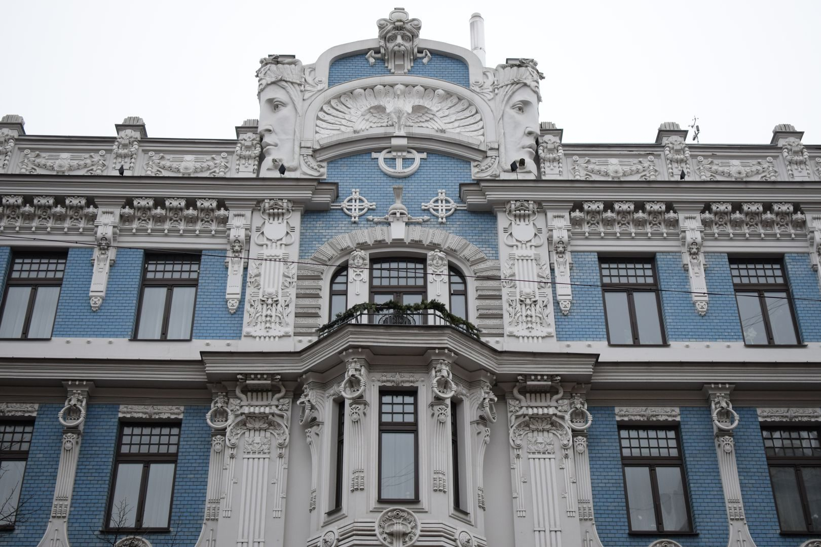 Jugendstil In Riga 180 S Neustadt Unesco Welterbe North