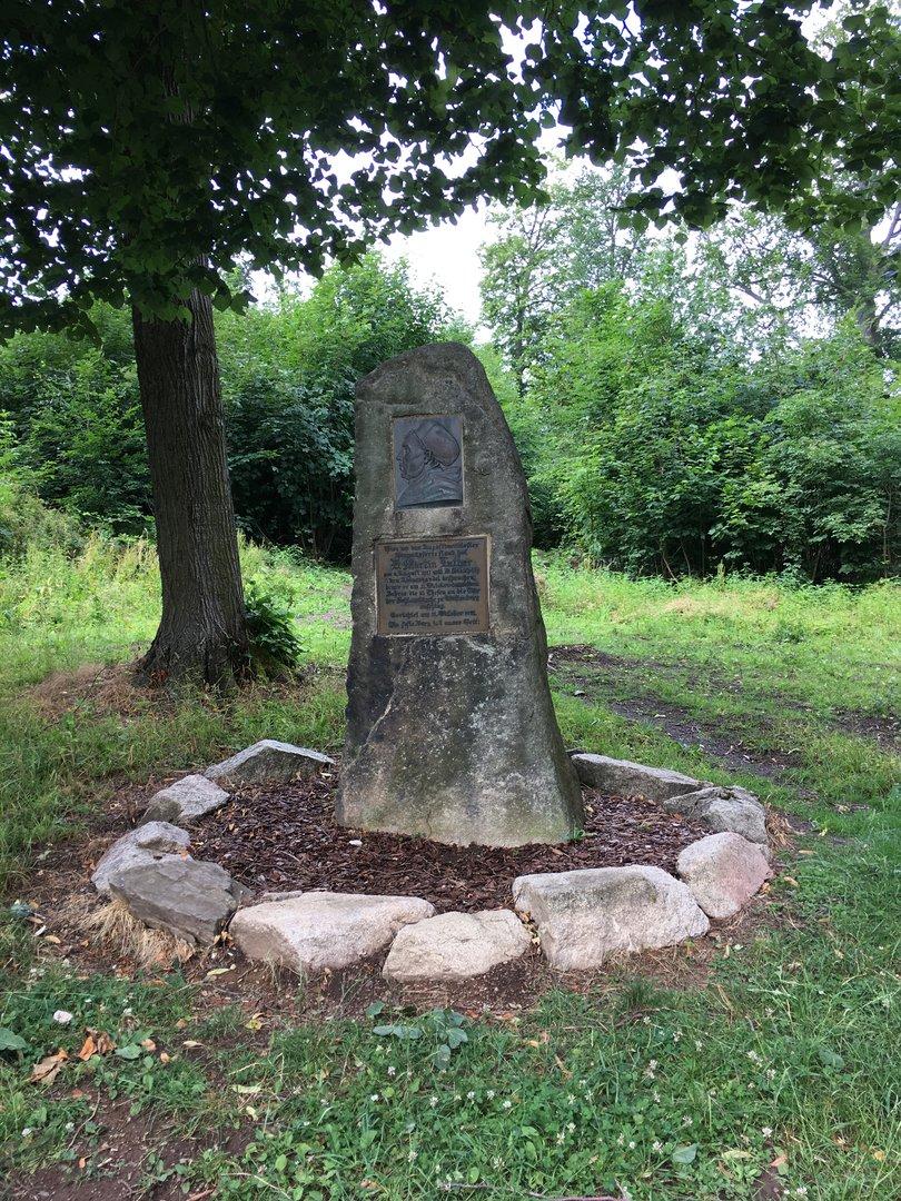Luther Gedenkstein beim Kloster Himmelpforte