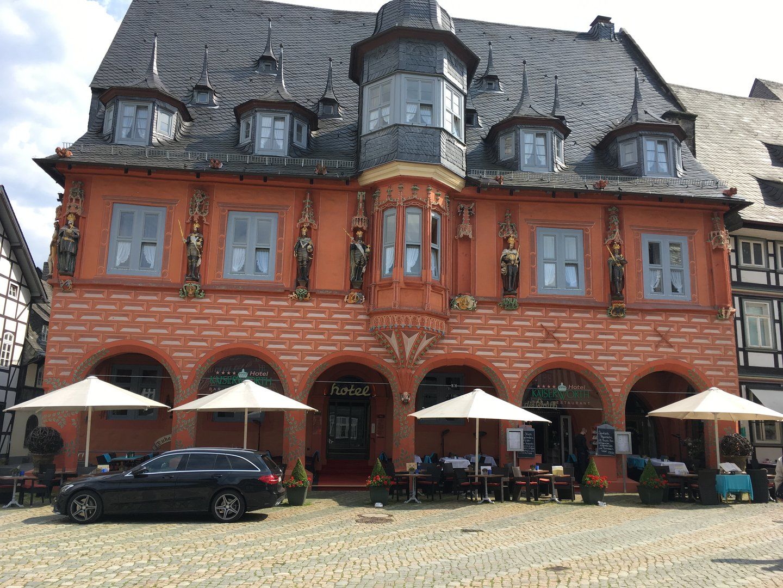 Patrizierhaus Goslar Marktplatz