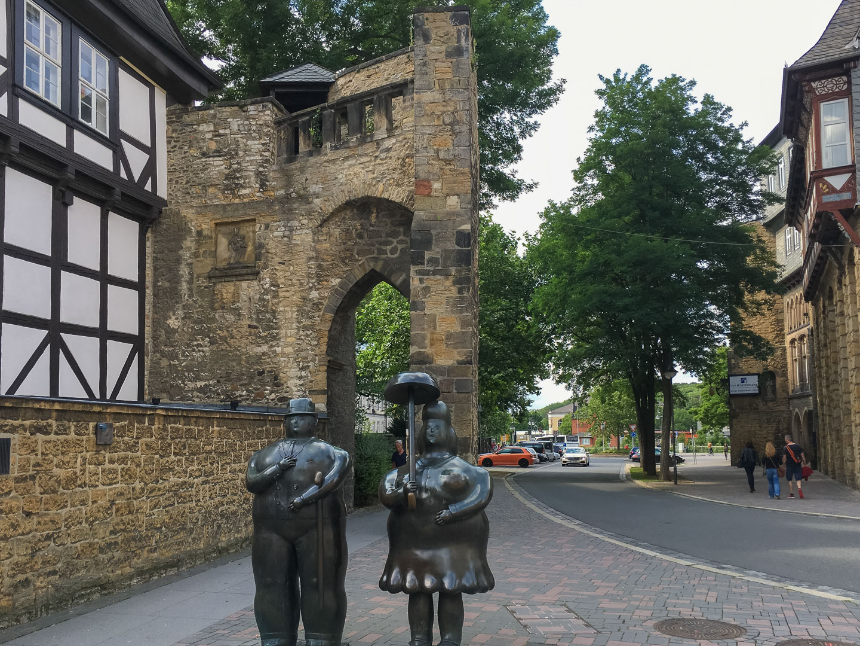 Stadttor Rosentor Goslaer Altstadt