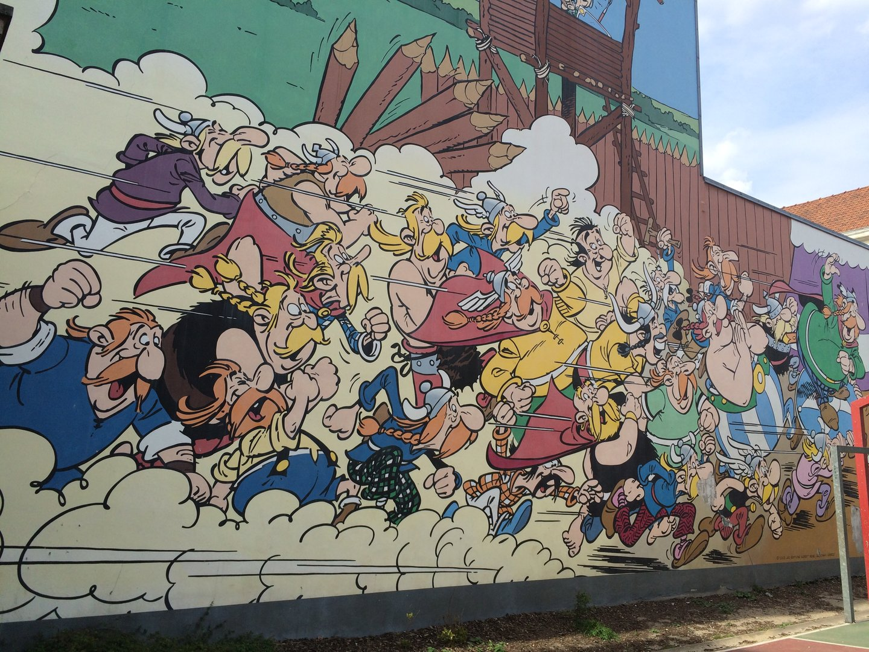Comic Rundgang Brüssel Asterix