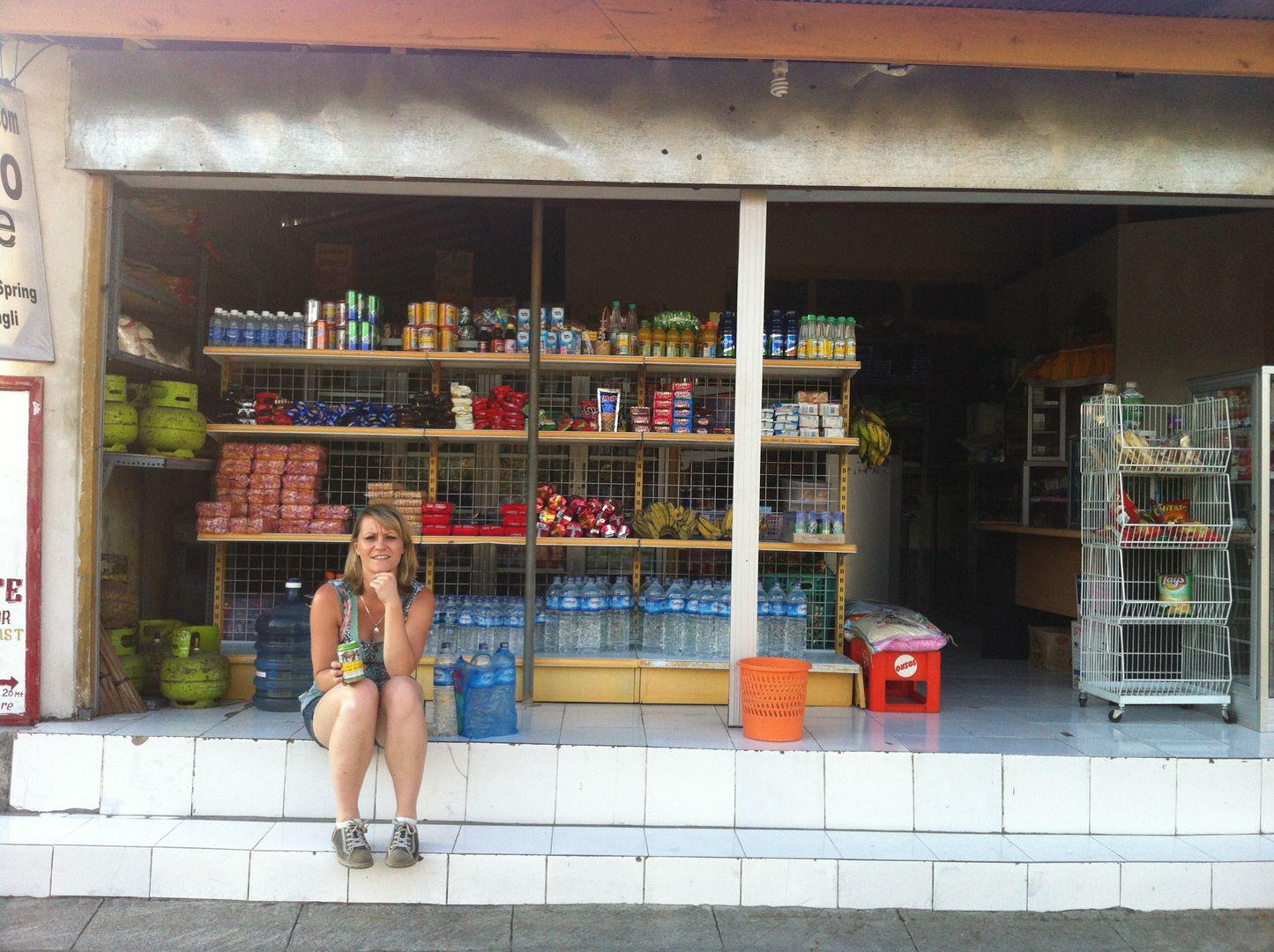 Bali supermarkt