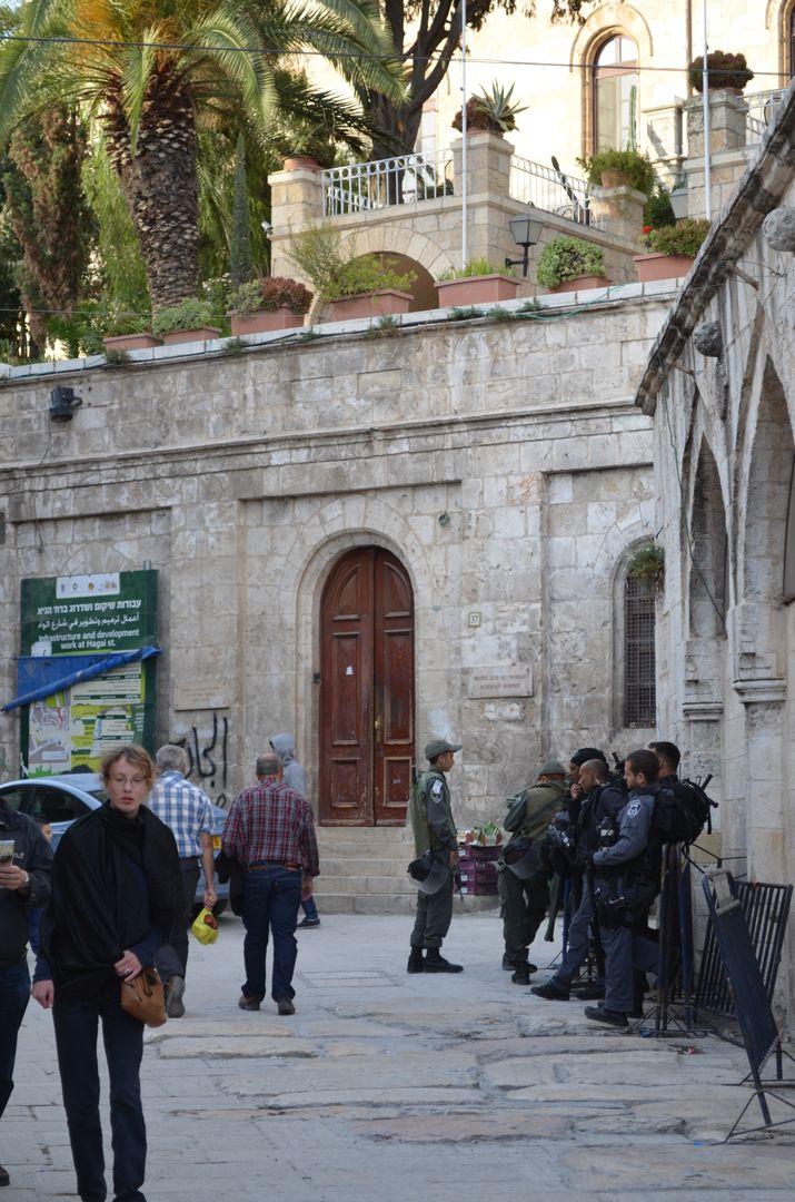Soldaten in Jerusalem