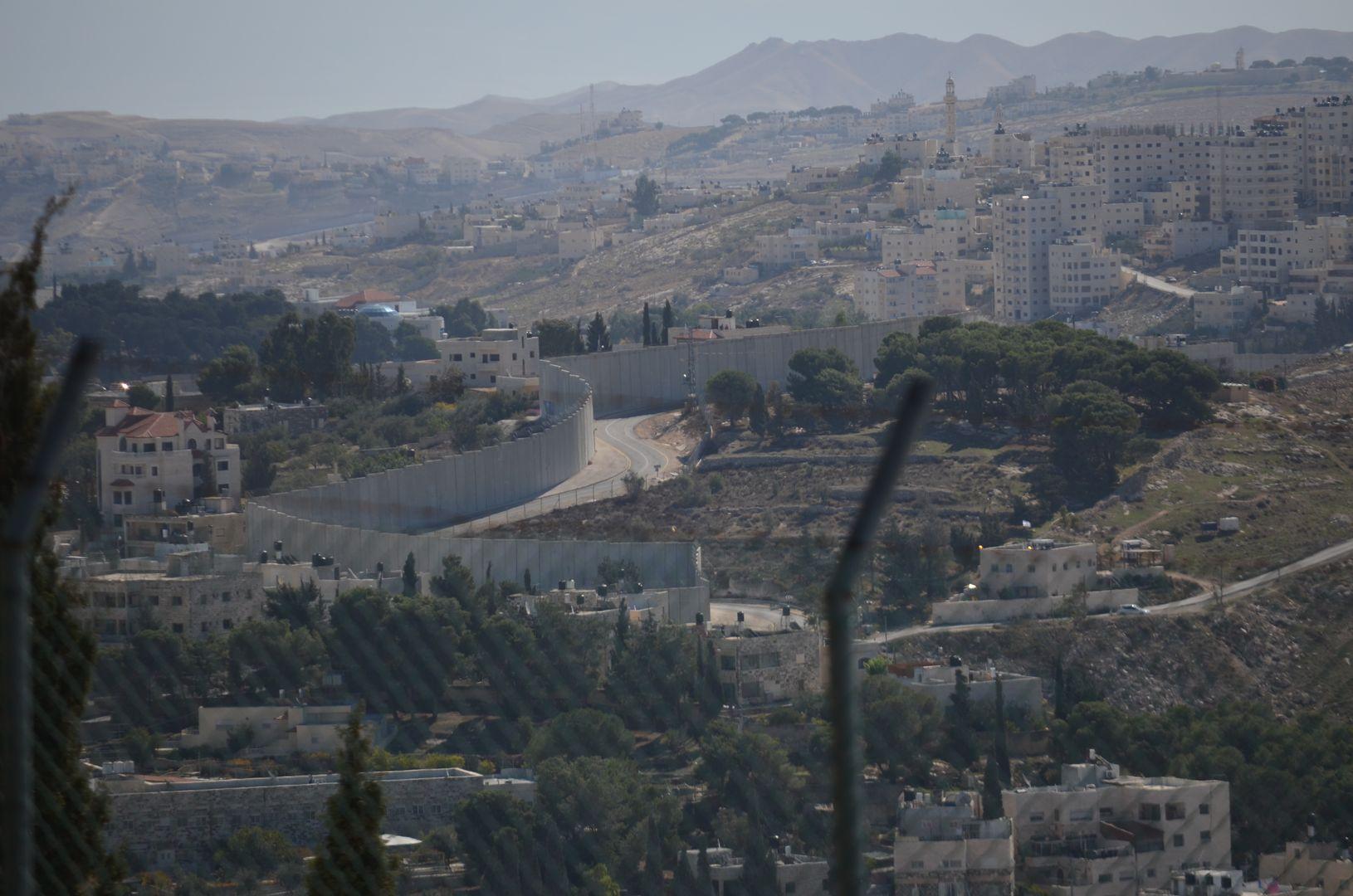 Mauer zwischen Israel und Palästina