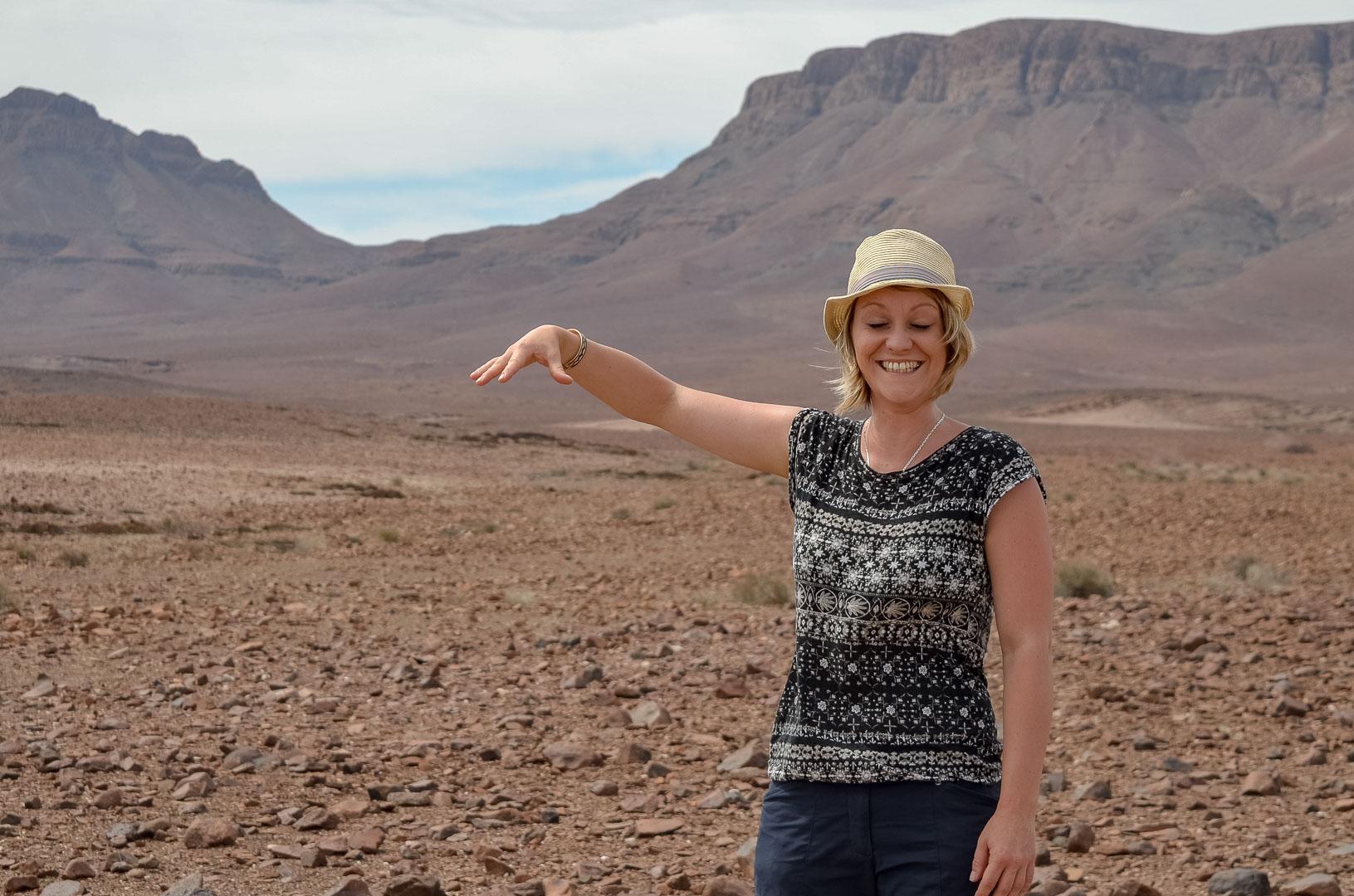 Namibia Foto hinter den Kulissen