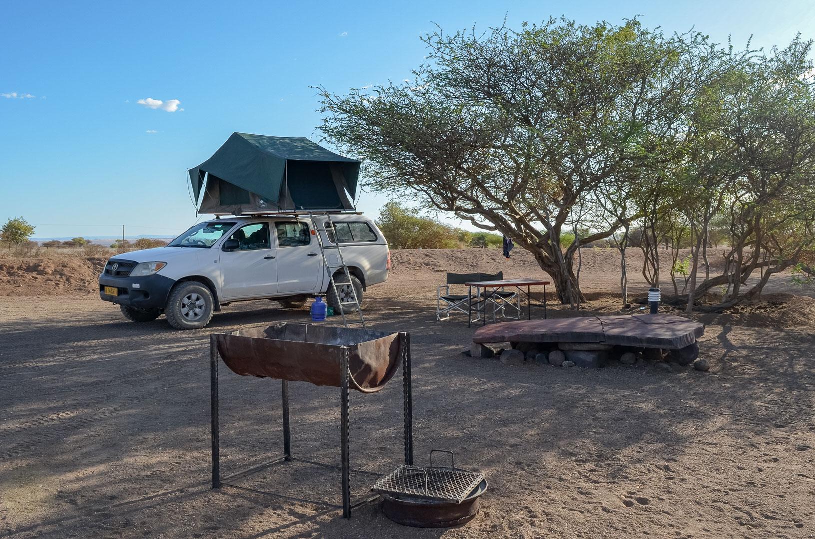 Camping Köcherbaumwald Namibia