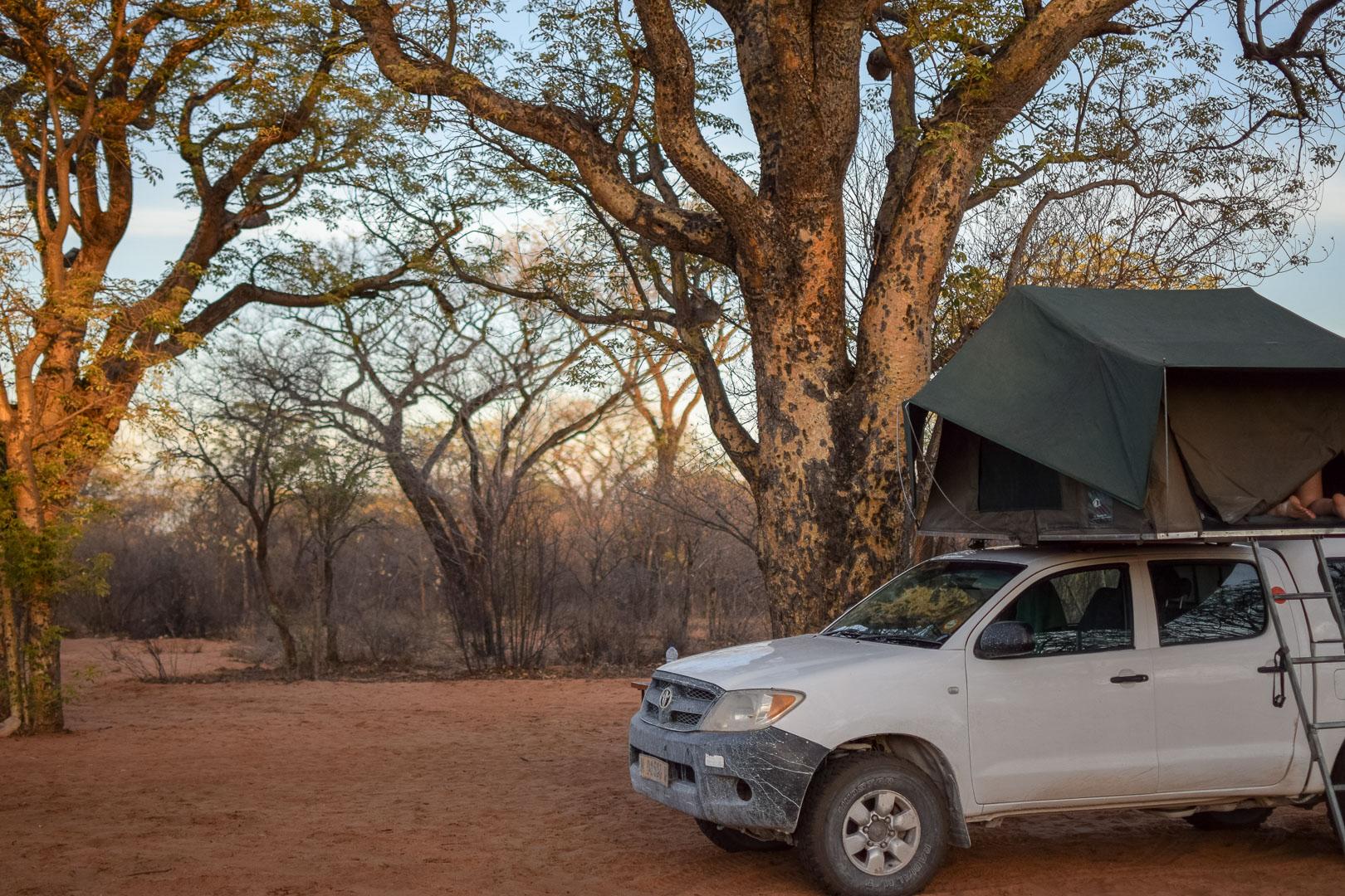Namibia Camping Grashoek San