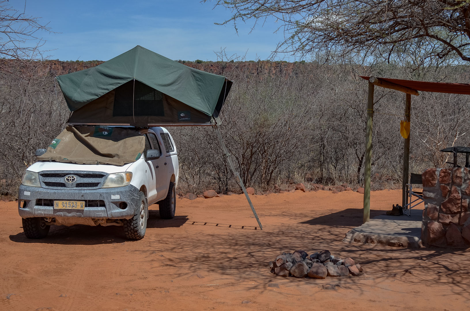Namibia Camping Waterberg Plateau