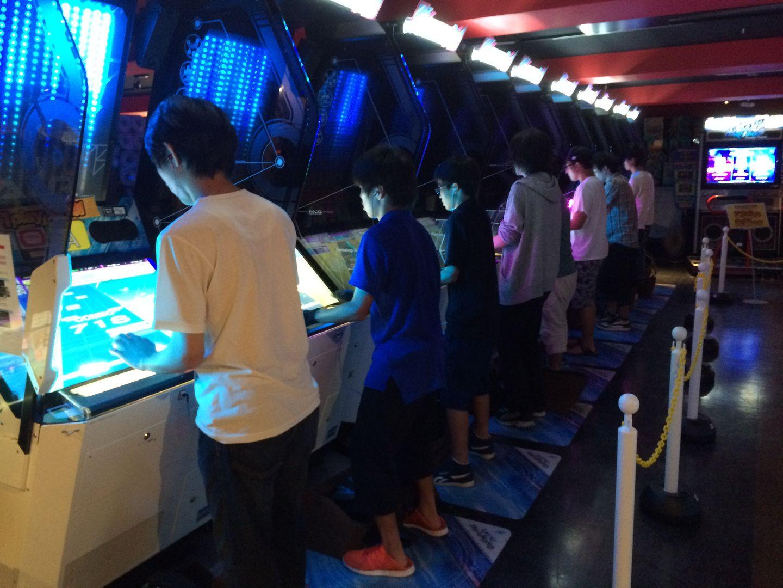 Tokio Japan Spielhalle