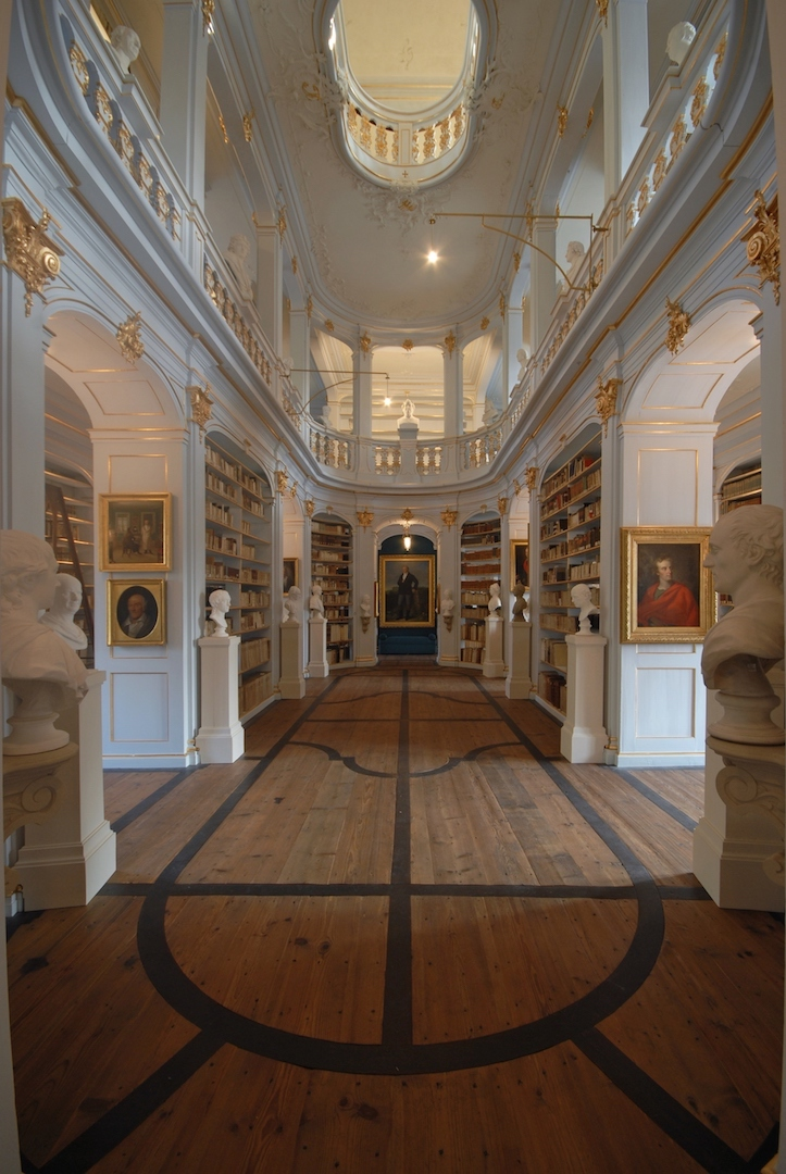 Rokokosaal in der Herzogin Anna Amalia Bibliothek © Klassik Stiftung Weimar, Foto: Maik Schuck