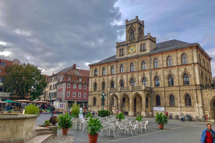 Thueringen-Weimar-Marktplatz