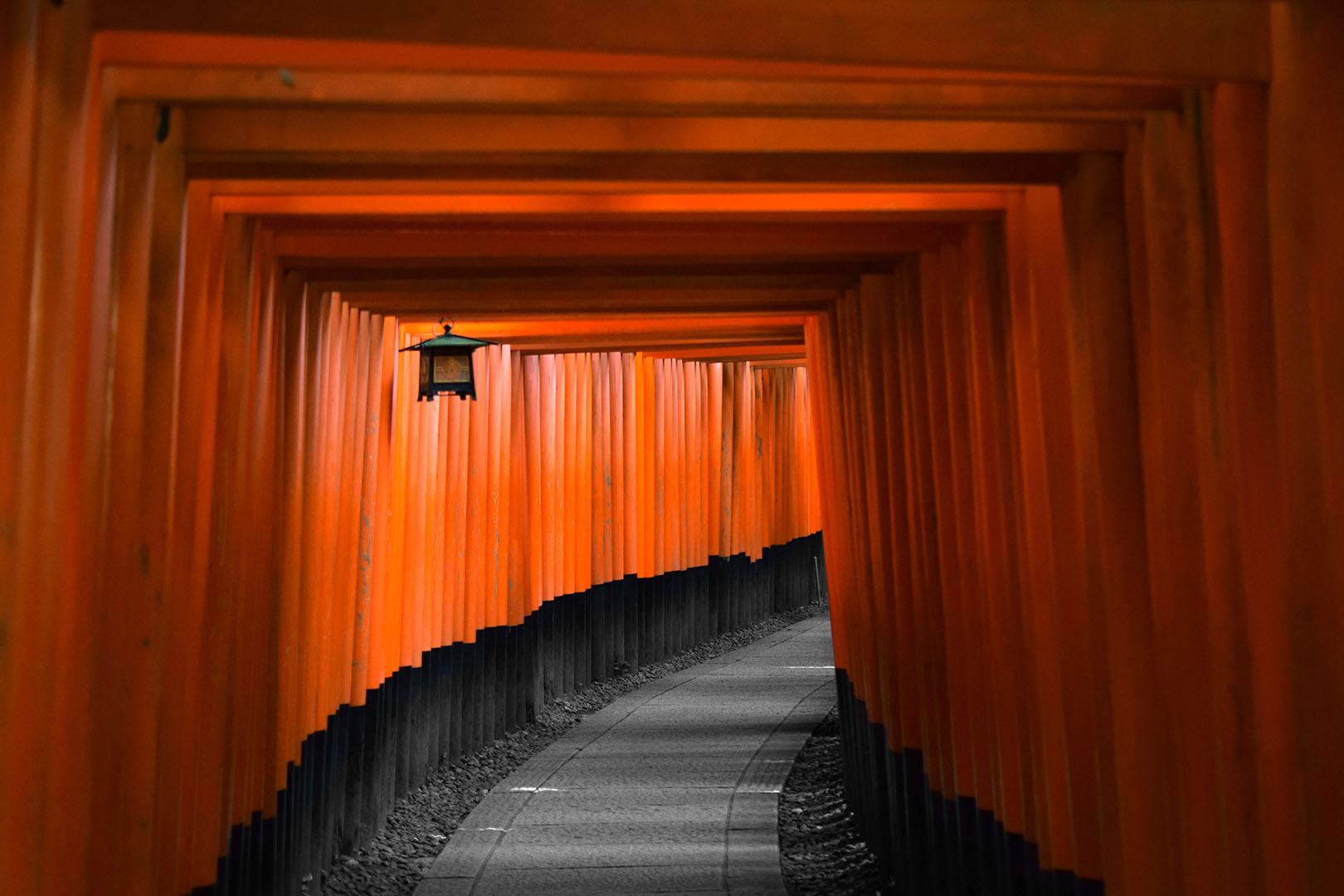 Tempel-bei-Kyoto-Japan