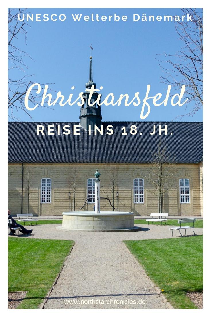 Christiansfeld Stadt der Herrnhuter Bruedergemeine in Daenemark