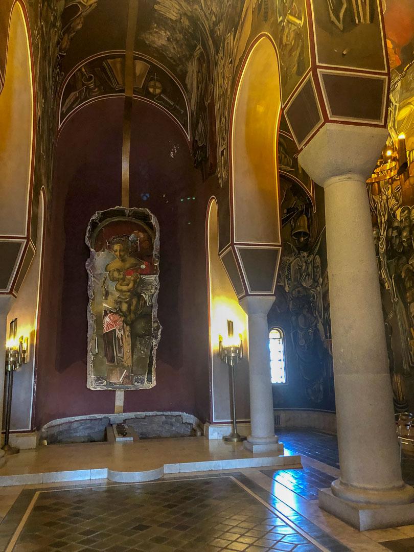 Innenraum-Tsarevets-Kirche